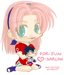 For Jun-chan by lupinechild