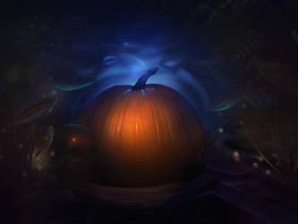 Pumpkin - Halloween by WolfmanArtist