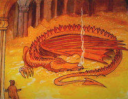 Smaug by QueenslandChris