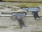 Japanese WW2 Nambu Pistols by TribblePom55