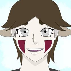 Naruto OC Headshot - Inuzuka Lady by FeliceLiz