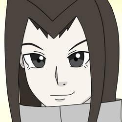 Naruto OC Headshot - Aburame Lady by FeliceLiz