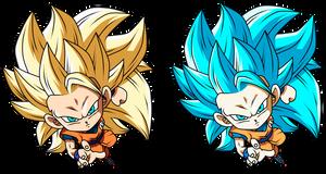 Goku Ssj 3 by Monstkem