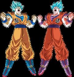 Goku Ssj Blue by Monstkem