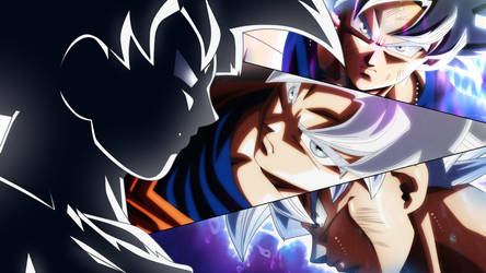 Son Goku - Migatte No Goku'i by Monstkem