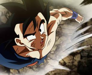 Son Goku by Monstkem