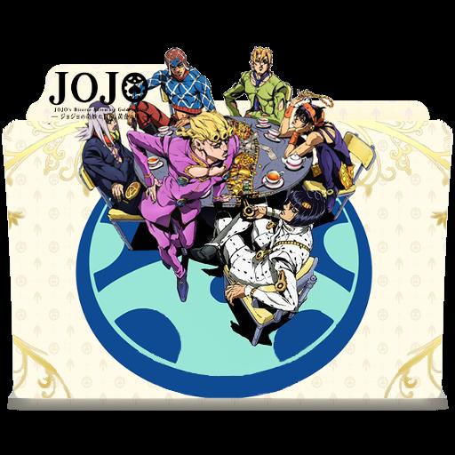 Jojo's Bizarre Adventure-Golden Wind-Folder icon by Galmer