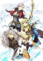FE Fates: Dynamic trio by Vidolus