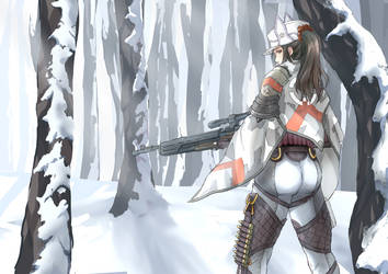 Valkyria Chronicles: Winter Sniper by Vidolus