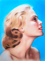 Grace Kelly by SpringzArt