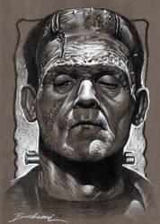 Mr. Boris Karlof Frankenstein by Buchemi
