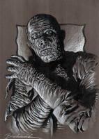 Lon Chaney Jr. Mummy by Buchemi