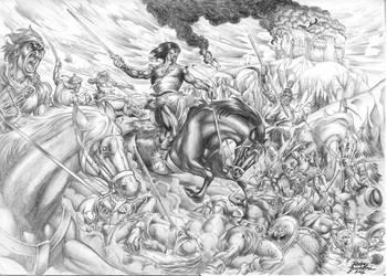 Conan, old drawing by Buchemi