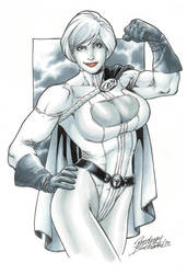 Powergirl 2 commission by Buchemi