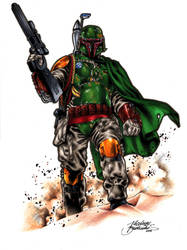 Boba Fett commission by Buchemi