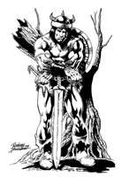 Conan the barbarian by Buchemi