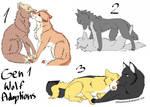 Gen1 - Wolves :OPEN: by Rin-shi