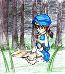 In the Forest by Rin-shi