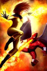 Firestar vs Firebrand by PieroMng