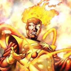 Firestorm The Nuclear Man by oddbasket
