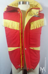 Kyoryu red vest front by Idzerda