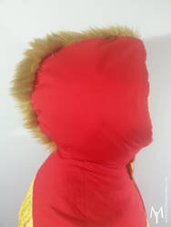 Kyoryu vest - fur mohawk by Idzerda