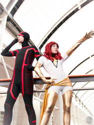 White Phoenix and Cyclops by Idzerda