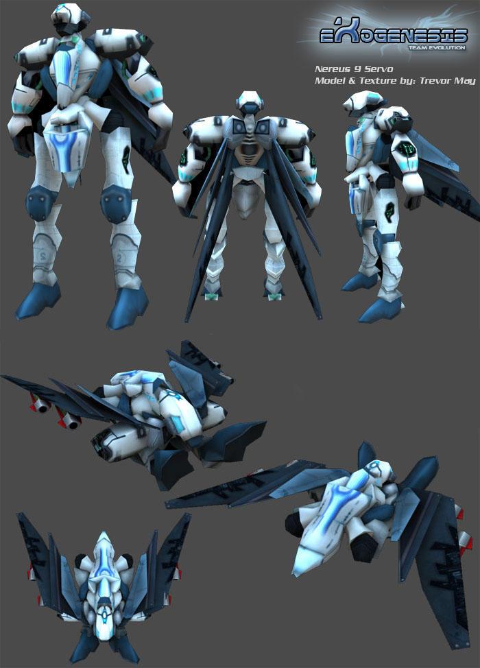 Nereus 9 Servo by canadaka