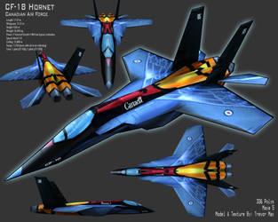 CF-18 Hornet by canadaka