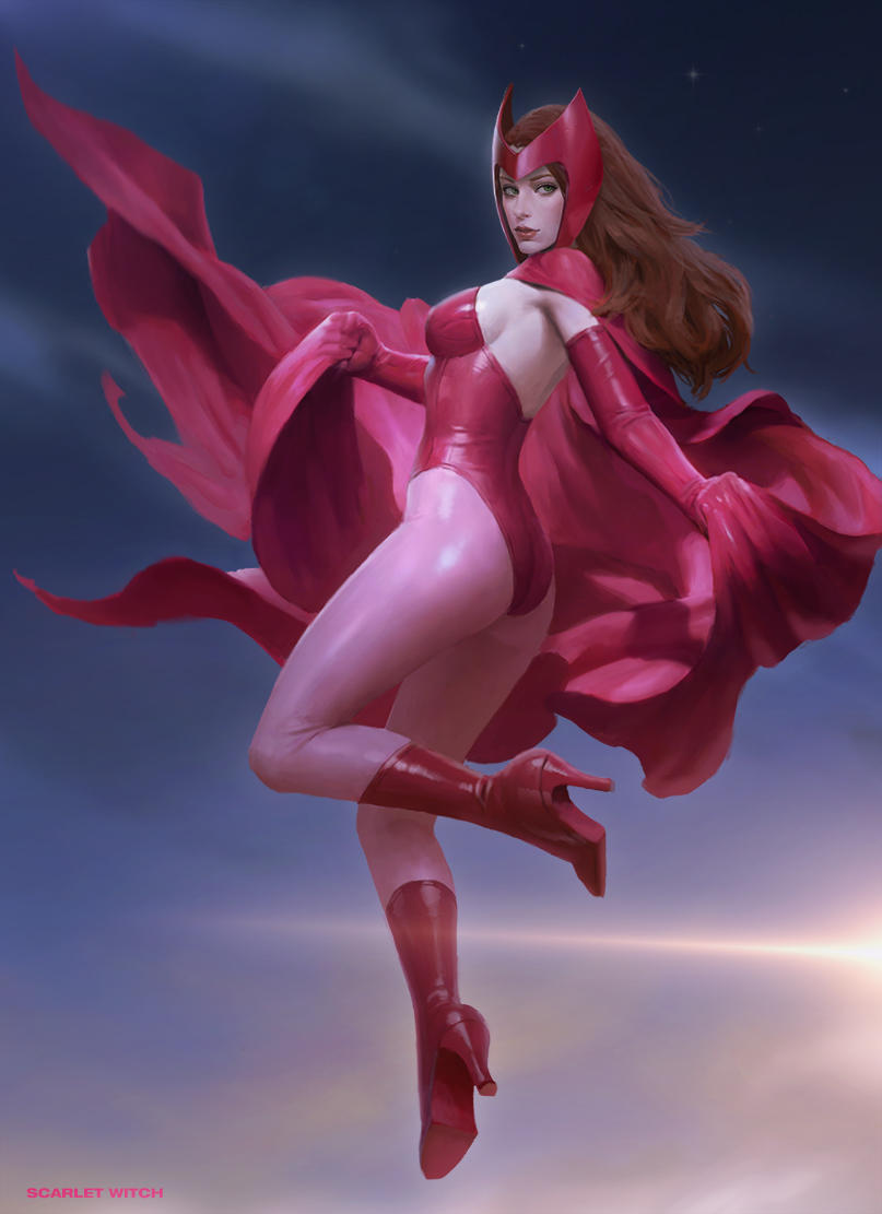scarlet witch by KilartDev