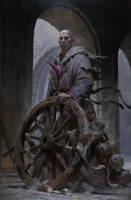 Fallen monk by KilartDev