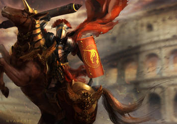Trojan horse was a unicorn by Nyamesiss