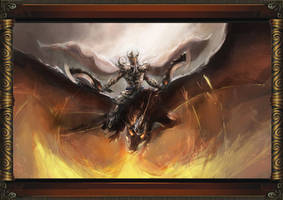 Dragon Warrior by kernooi