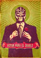 Votar Para El Diablo by gurrilla