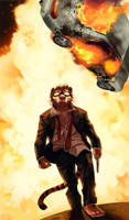 Cool Cats Don't Look at Explosions by Rhandi-Mask