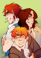 bully brothers by fidgeykins