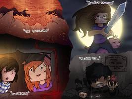 minecraft scenarios by BenPlus