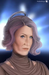Vice Admiral Holdo by PitchblackDragon