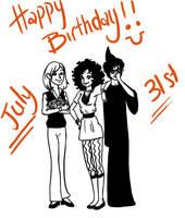 Happy BirthdayS by Lokita-Naky