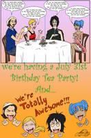 Birthday tea party by Lokita-Naky