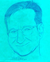 Robin Williams by Lokita-Naky