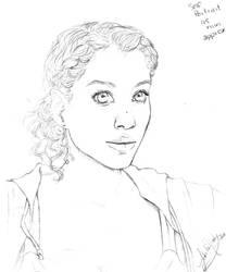 Self portrait  by Lokita-Naky
