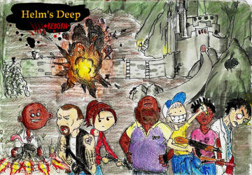 L4D - Helm's Deep REBORN by Action-Crab