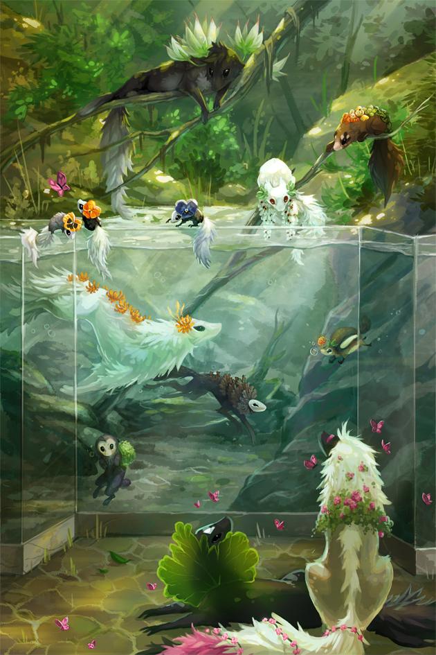 Aquarium - Conservatory by rejamrejam