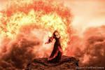 Sorceress of Fire by UnqualifiedGentleman