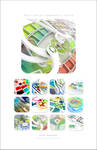 2010 Chromatic calendar by k3-studio
