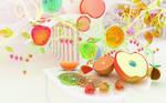 Chromatic fruits by k3-studio