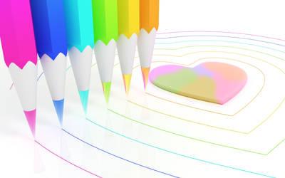 Chromatic pencils type 1 by k3-studio
