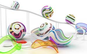 Chromatic spheres by k3-studio