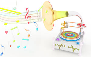 Chromatic gramophone by k3-studio